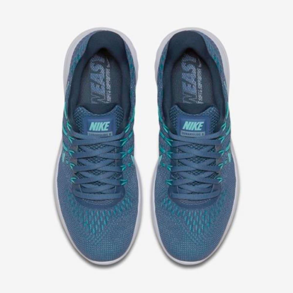 NIKE Women's LunarGlide 8 Running Shoes - BLUE
