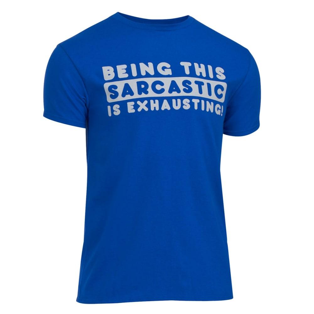 HYBRID Guys' Sarcausting Tee - CLASSIC BLUE