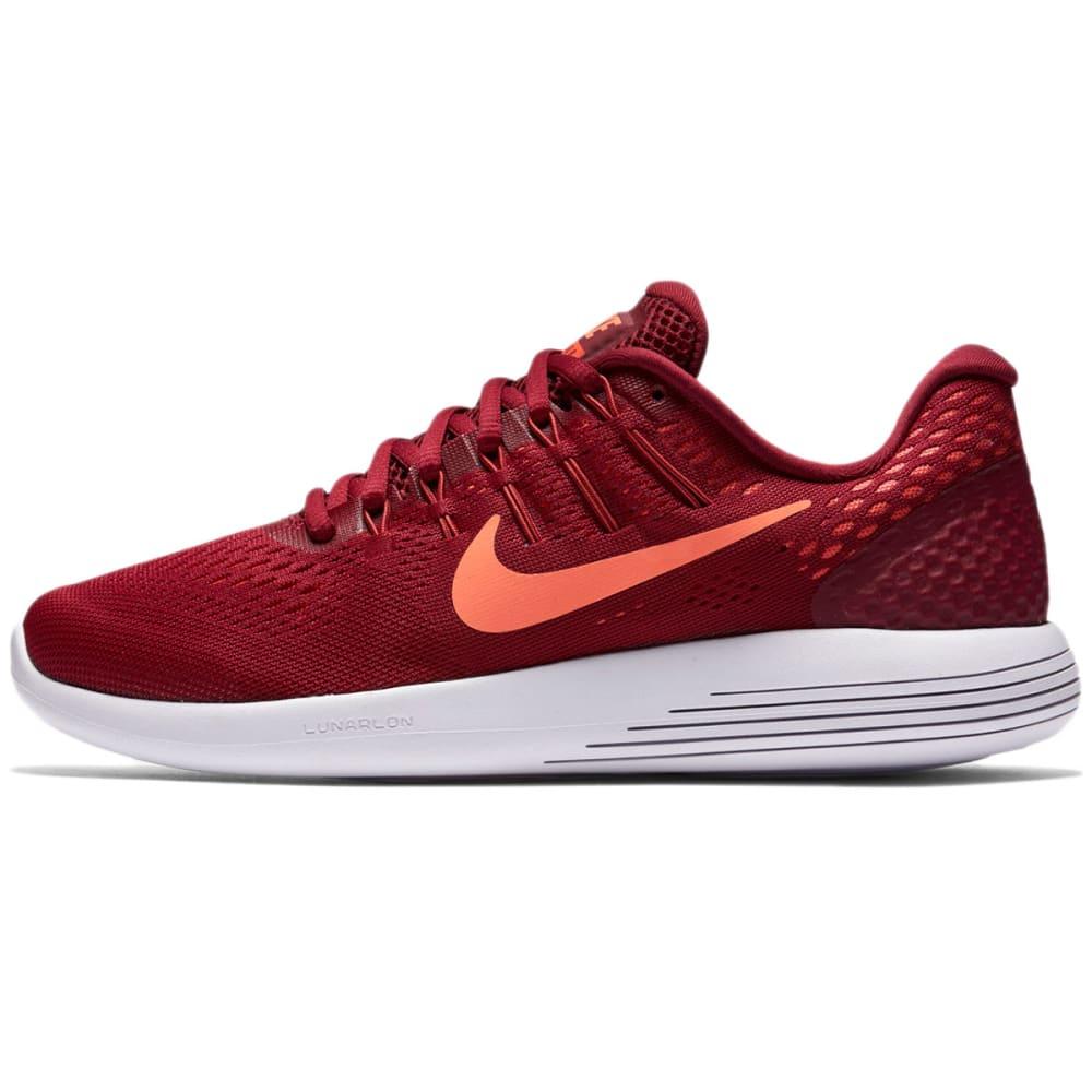 NIKE Women's LunarGlide 8 Running Shoes - RED