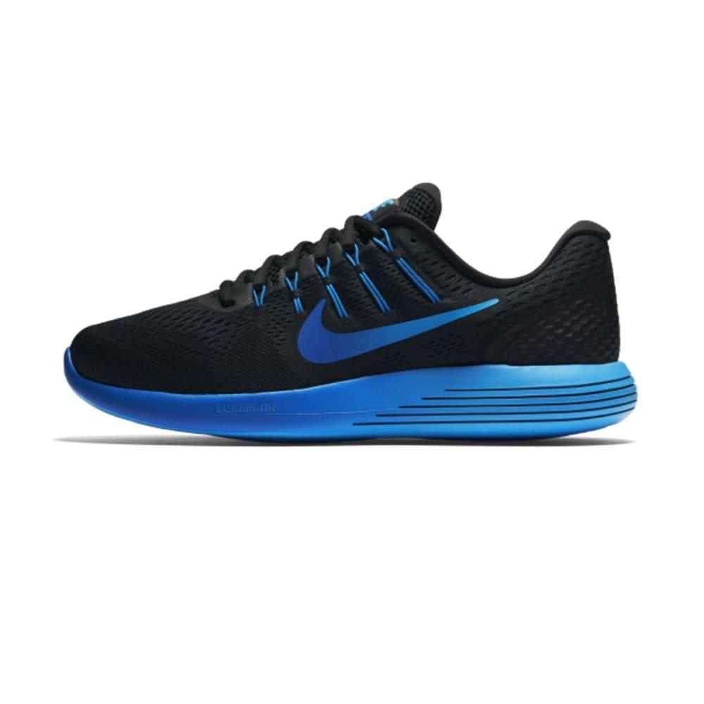 NIKE Men's LunarGlide 8 Running Shoes - BLACK - 004