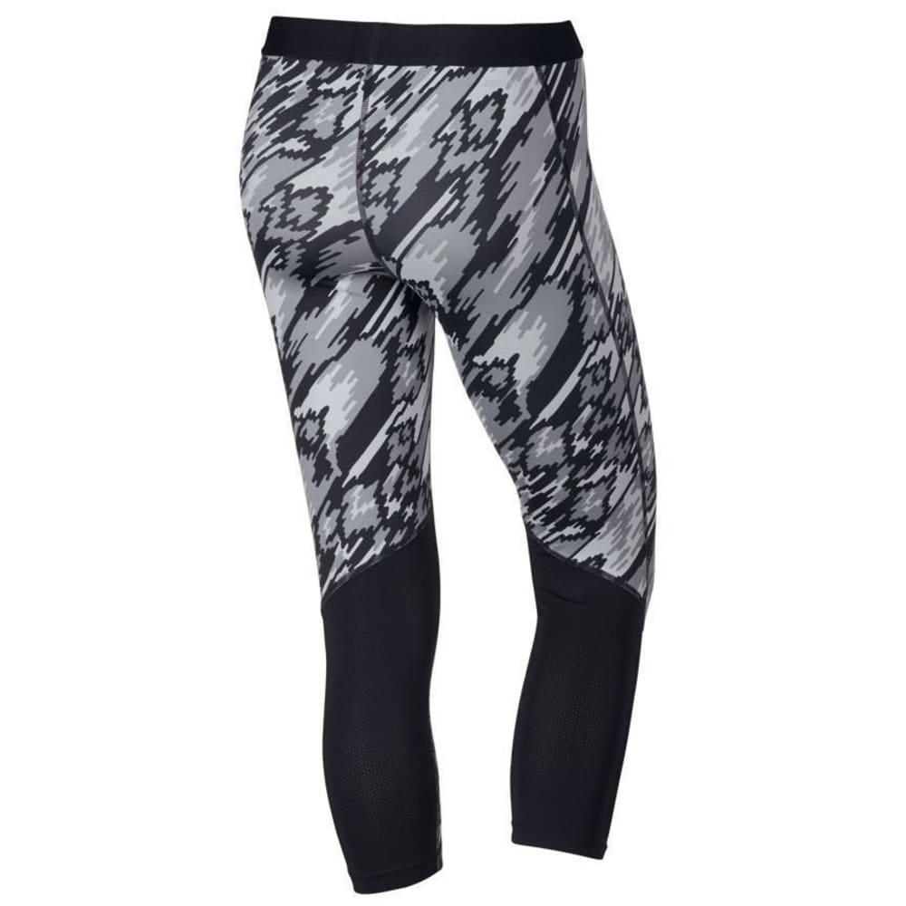 NIKE Women's Pro Overdrive Training Capri Leggings - BLACK 010