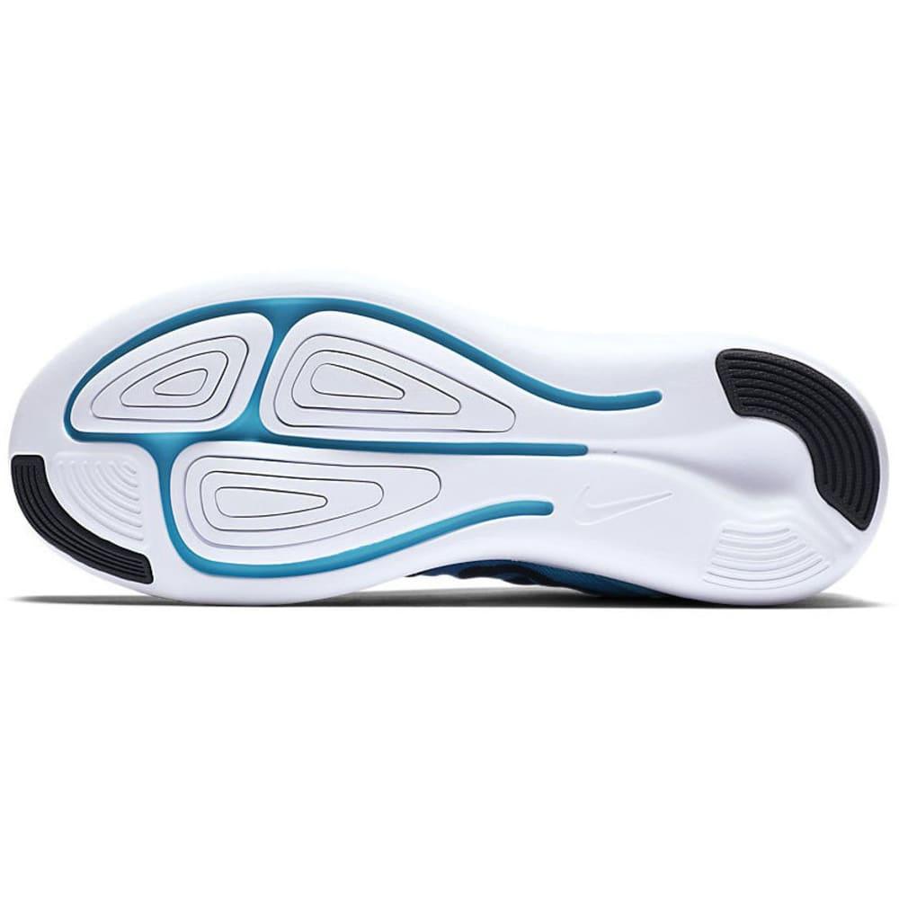 NIKE Women's LunarStelos Running Shoes - BLUE GLOW/BLACK