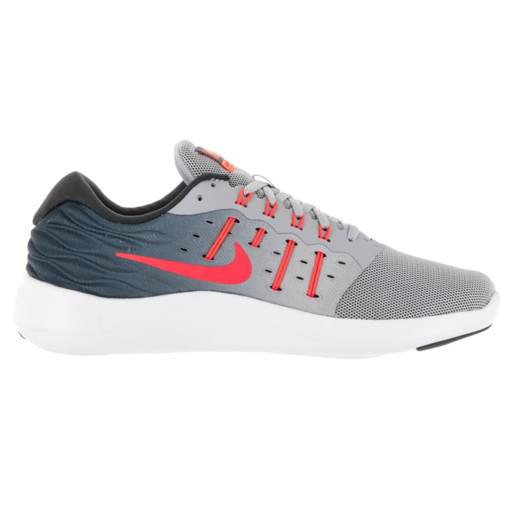 NIKE Women's LunarStelos Running Shoes - WOLF GRY - 003