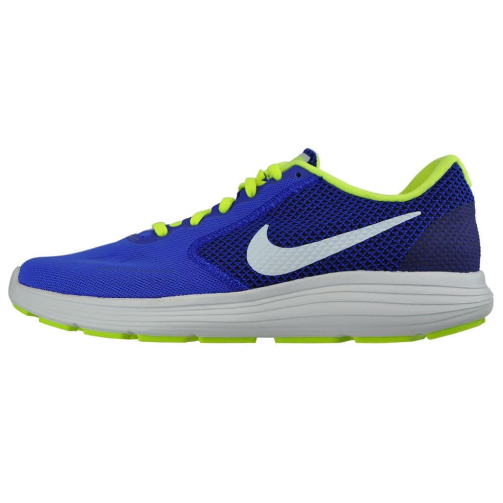NIKE Men's Revolution 3 Running Shoes - RACER BLUE - 403