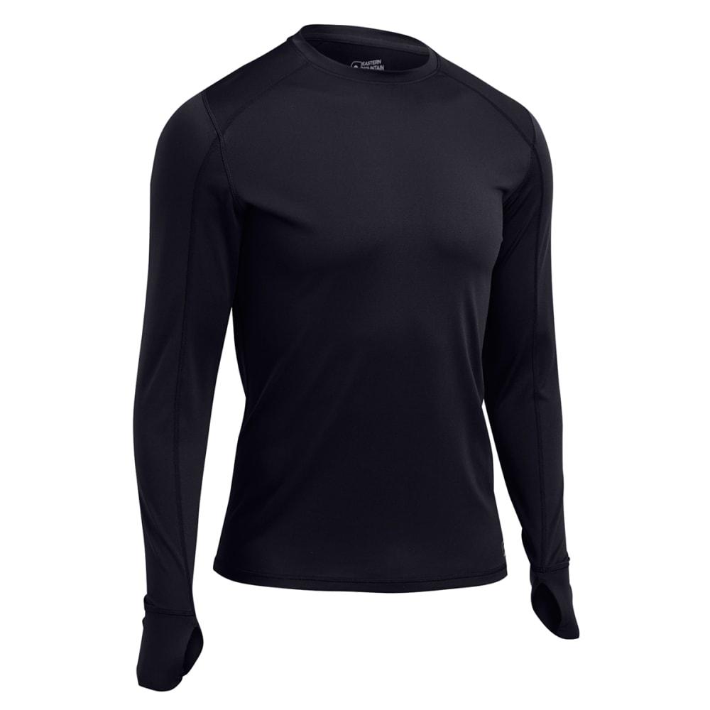 EMS® Men's Techwick® Lightweight Long-Sleeve Crew Baselayer - BLACK