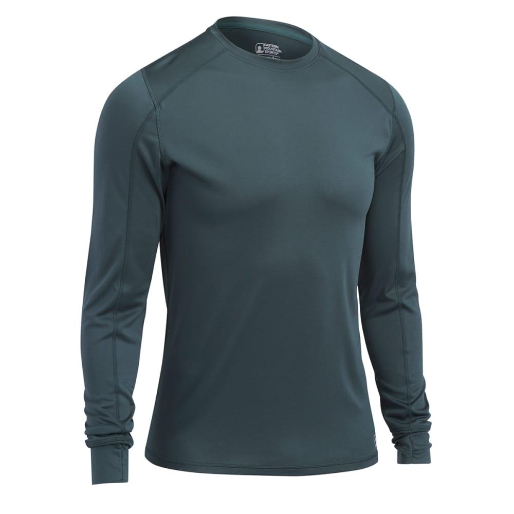 EMS® Men's Techwick® Lightweight Long-Sleeve Crew Baselayer - DARKEST SPRUCE