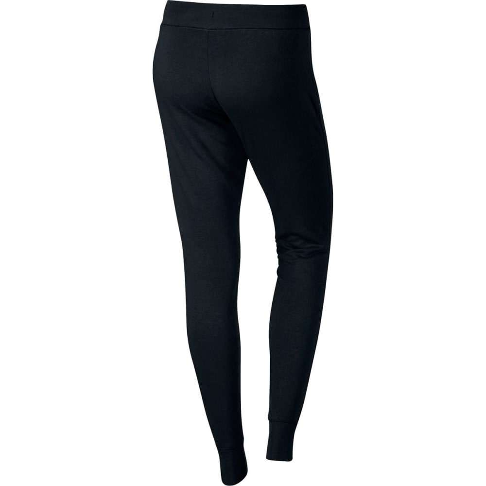 NIKE Women's NSW Tight Fleece Pants - BLACK 010