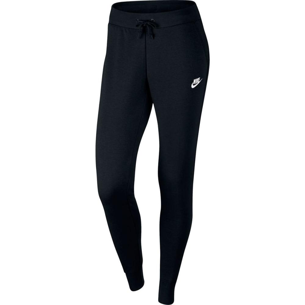 NIKE Women's NSW Tight Fleece Pants - BLACK 010