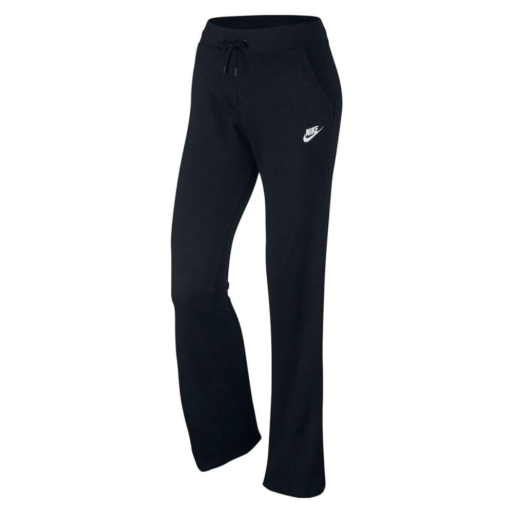 NIKE Women's Fleece Sweat Pants - BLACK 010