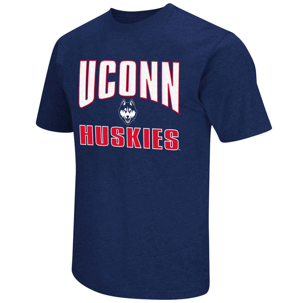 UCONN Men's State Your Name Tee - NAVY