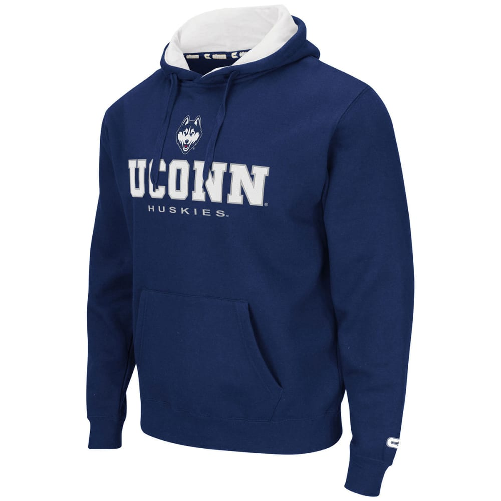 UCONN Men's Zone II Pullover Hoodie - NAVY