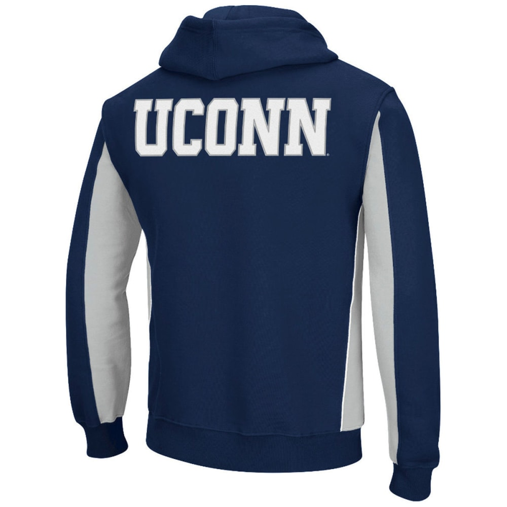 UCONN Men's Thriller II Pullover Hoodie - NAVY