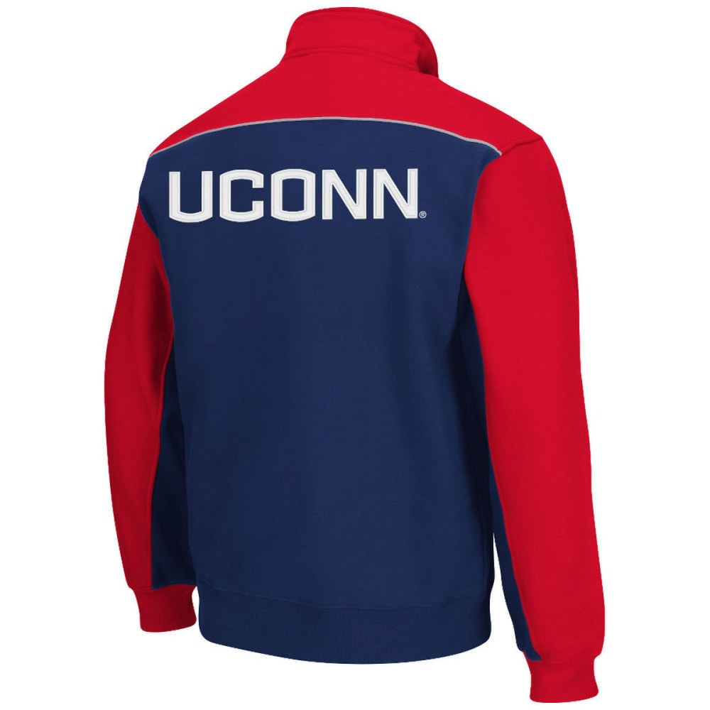 UCONN Men's Thriller II ¼ Zip Fleece - NAVY
