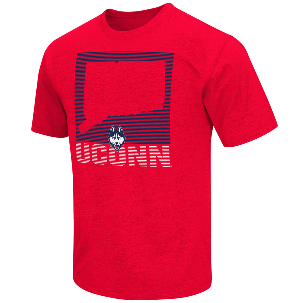 UCONN Men's State of the Union Tee - RED