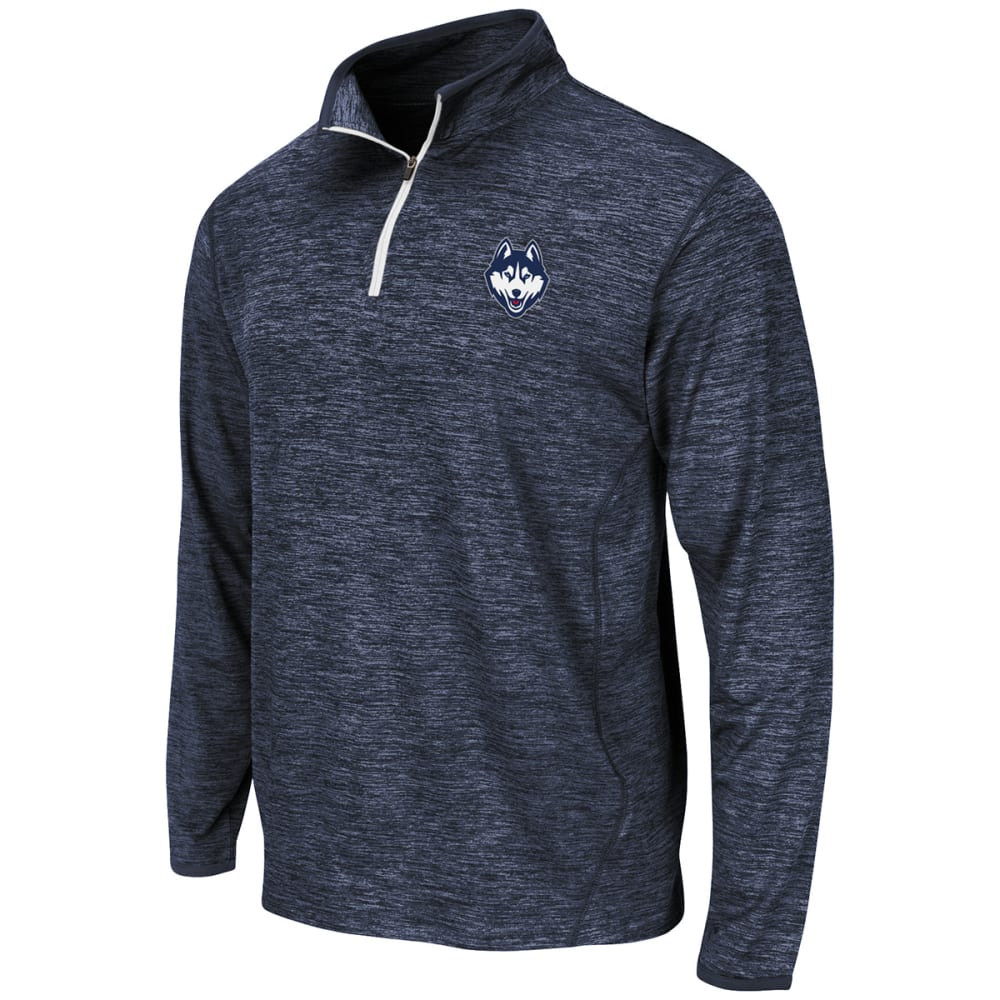 UCONN Men's Action Pass ¼ Zip Jacket - NAVY