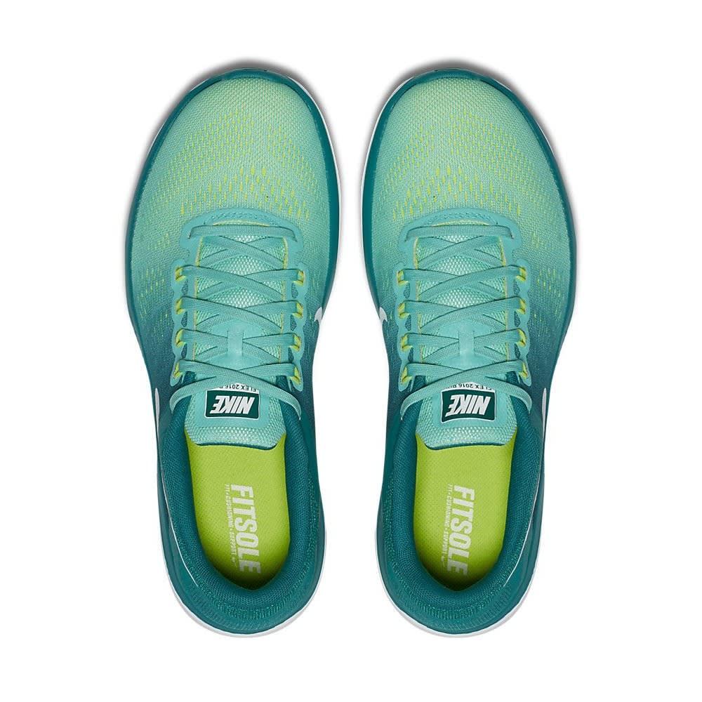 NIKE Women's Flex 2016 RN Running Shoes - TURQUOISE