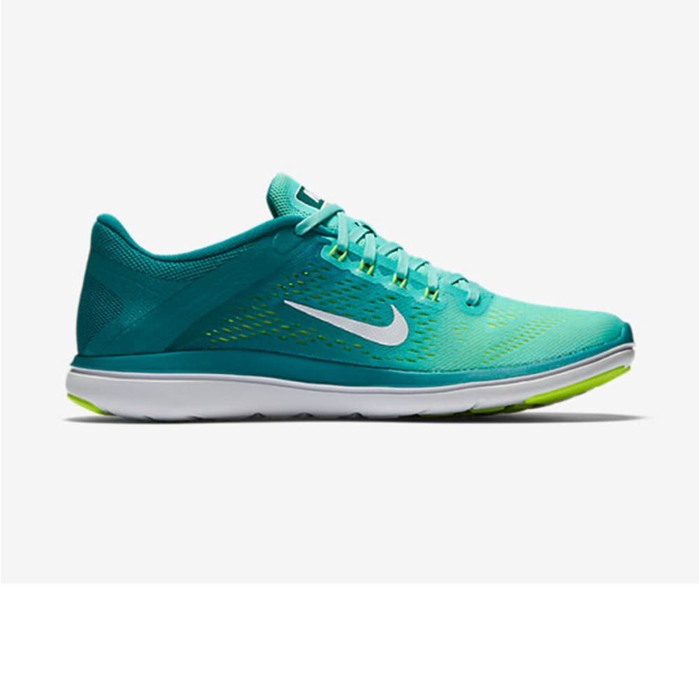 NIKE Women's Flex 2016 RN Running Shoes - TURQUOISE
