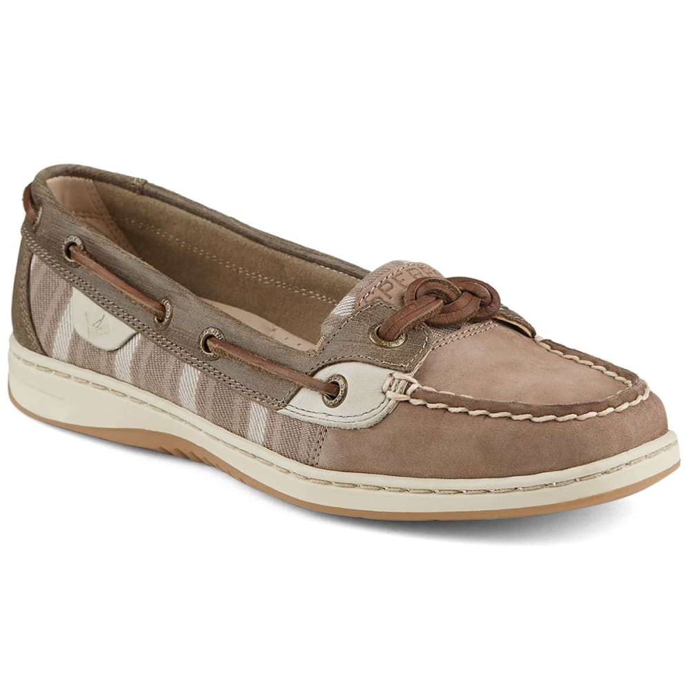 SPERRY Women's Sandfish Boat Shoes - TAUPE