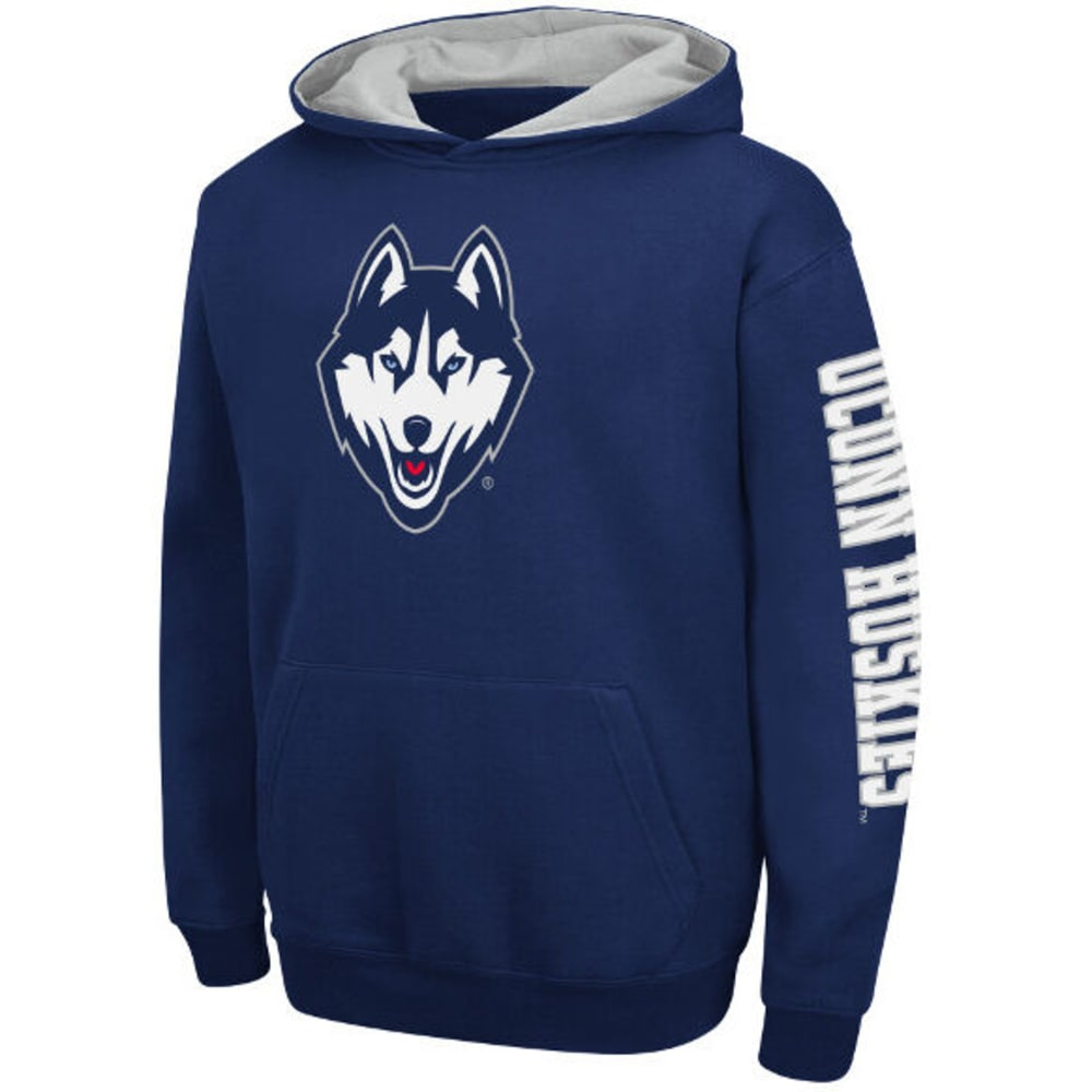 UCONN Boys' Youth Zone Pullover Hoodie - NAVY