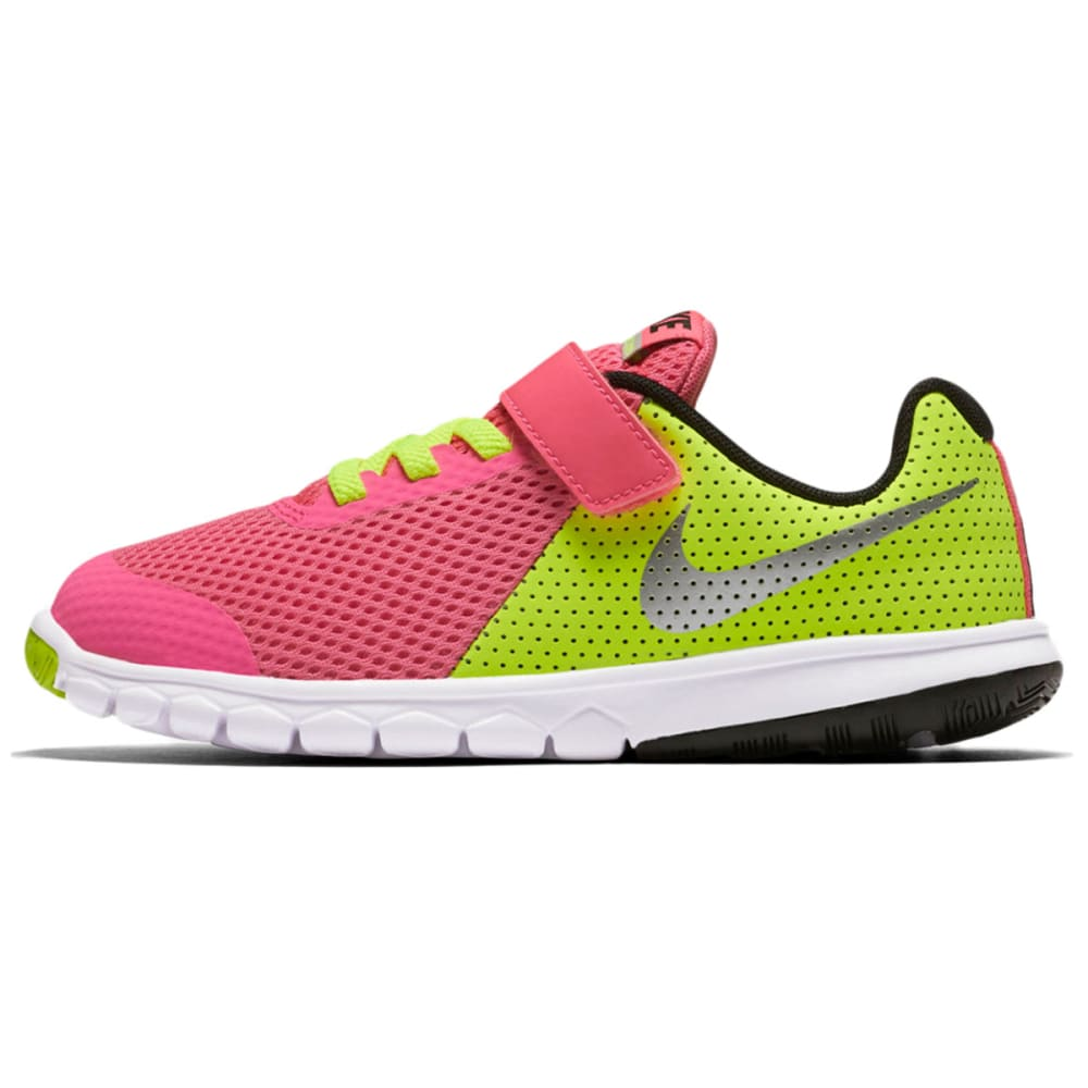 NIKE Little Girls' Flex Experience 5 Running Shoes - PINK