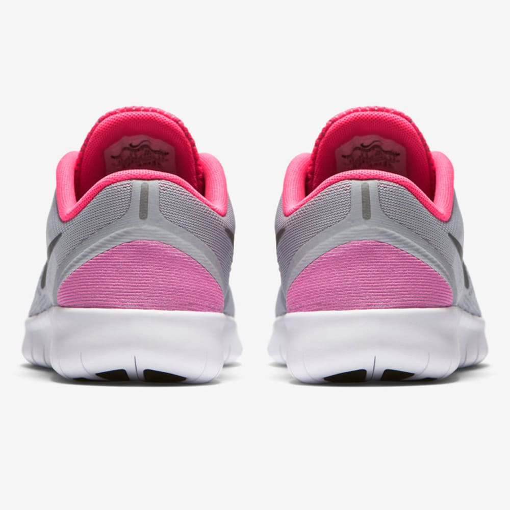 NIKE Big Girls' Free RN Running Shoes - GREY