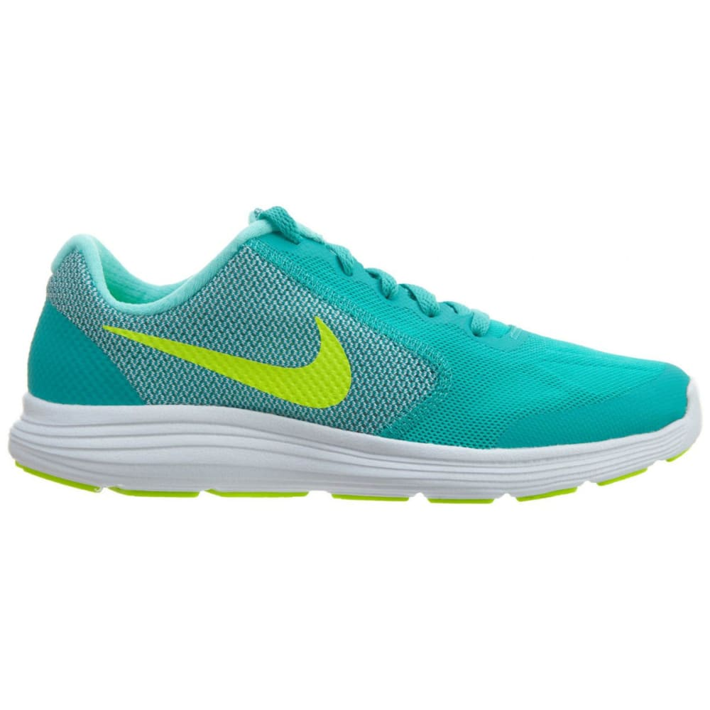 NIKE Big Girls' Revolution 3 Running Shoes - JADE