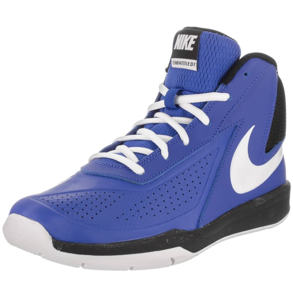 NIKE Big Boys' Team Hustle D 7 Basketball Shoes - ROYAL BLUE