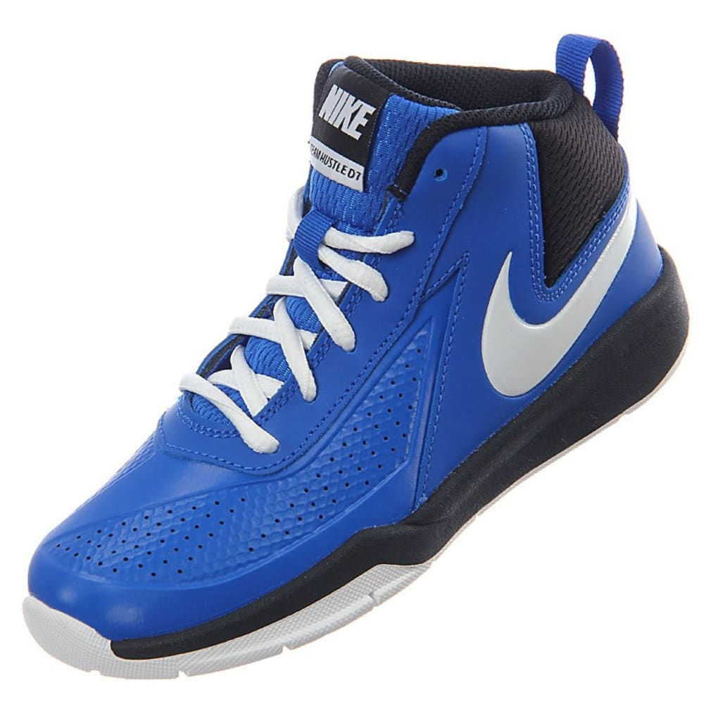 NIKE Little Boys' Team Hustle D 7 Basketball Shoes - ROYAL BLUE
