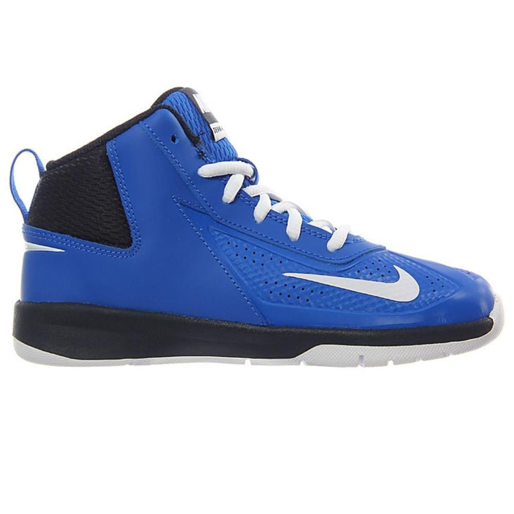 56abce73ba1f NIKE Little Boys  39  Team Hustle D 7 Basketball Shoes - ROYAL BLUE