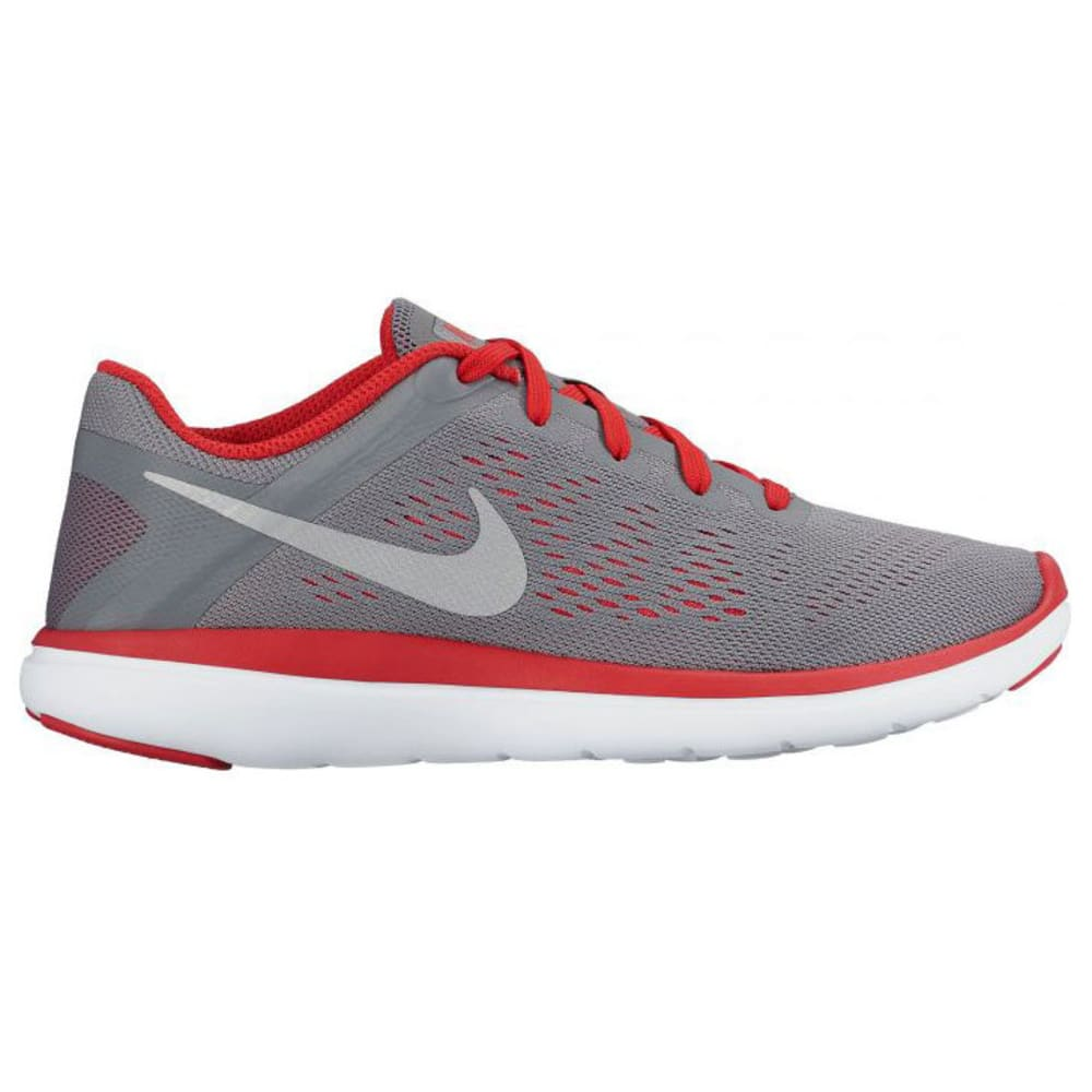 NIKE Big Boys' Flex 2016 RN Running Shoes - GREY