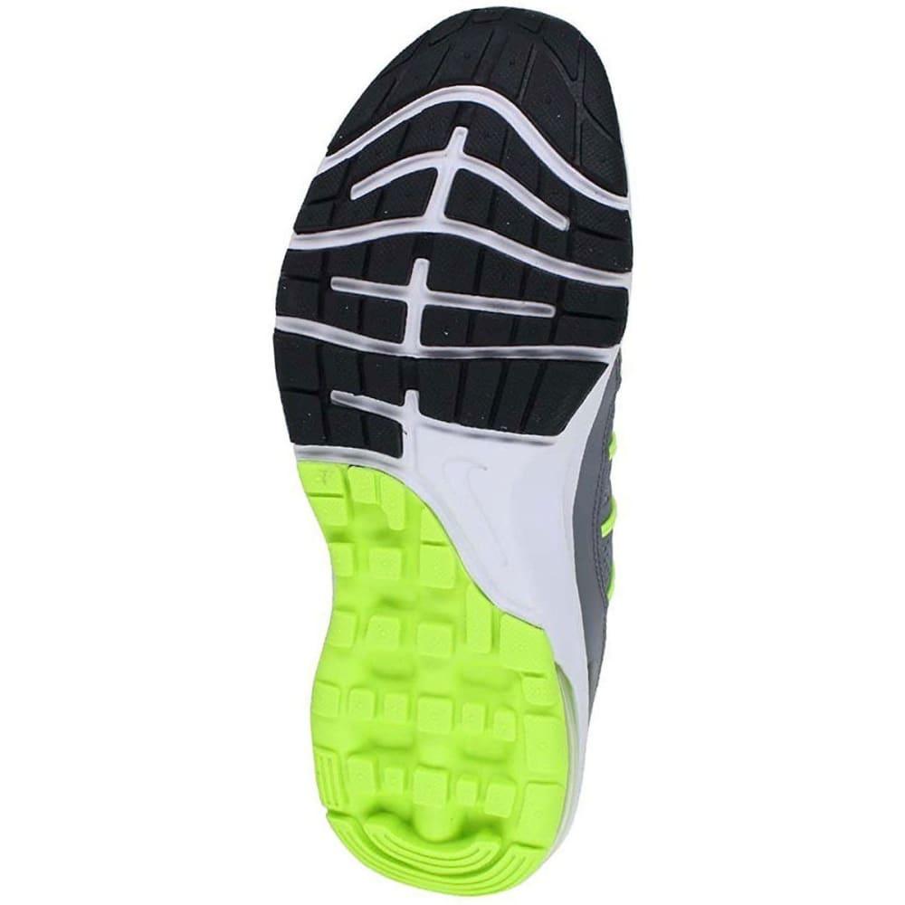 NIKE Big Boys' Grade School Air Max Dynasty Running Shoes - GREY