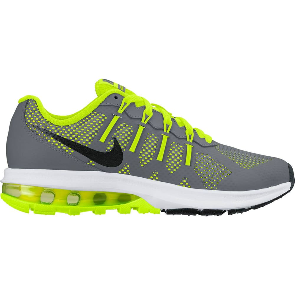 NIKE Big Boys' Grade School Air Max Dynasty Running Shoes - GREY