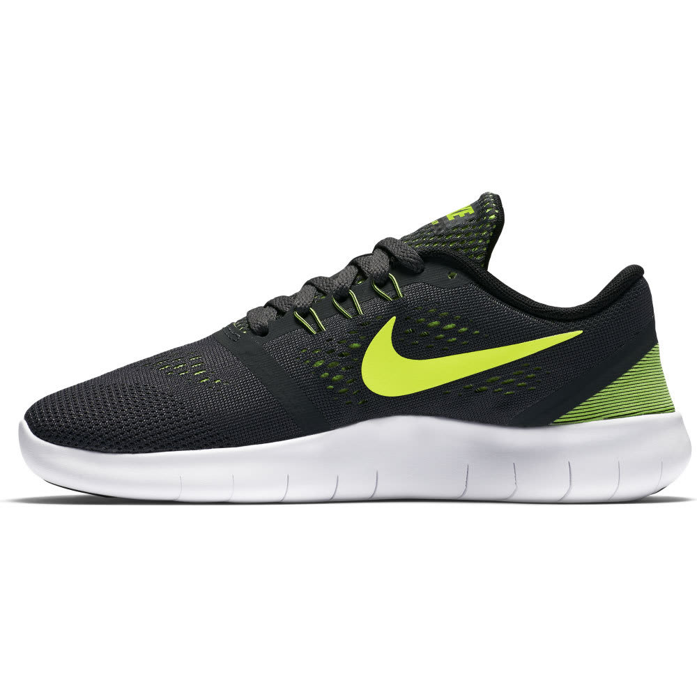 NIKE Big Boys' Free RN Running Shoes - BLACK