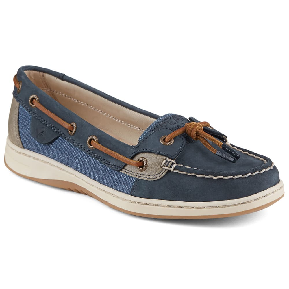 SPERRY Women's Dunefish Boat Shoes - NAVY