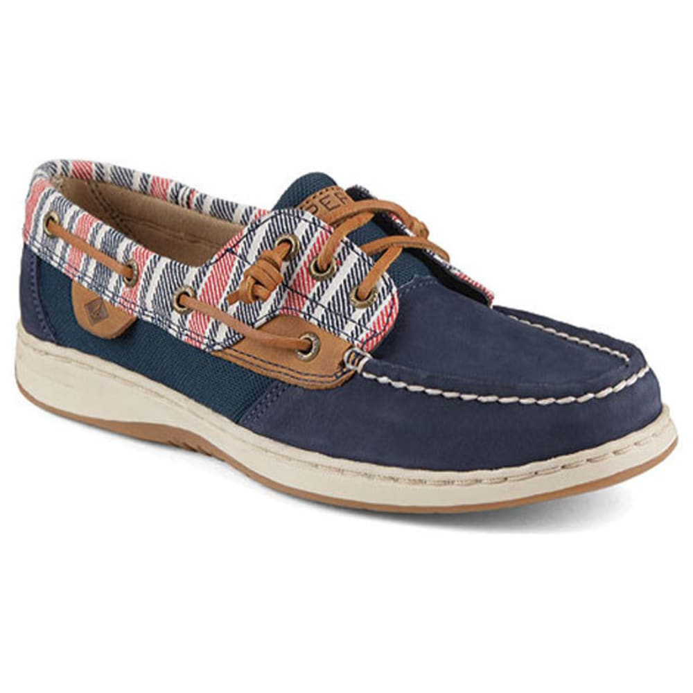 SPERRY Women's Ivyfish Boat Shoes - NAVY