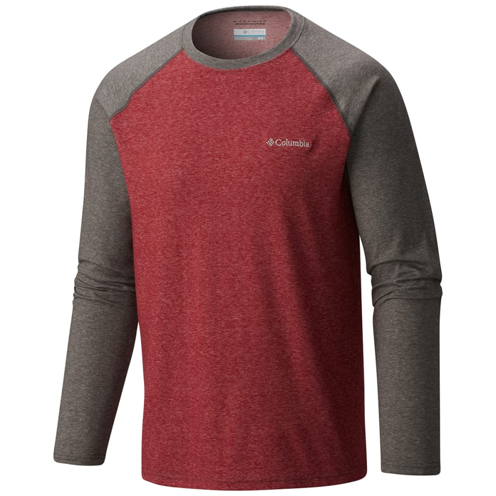 Columbia Men's Thistletown Park Raglan Tee - Red, M