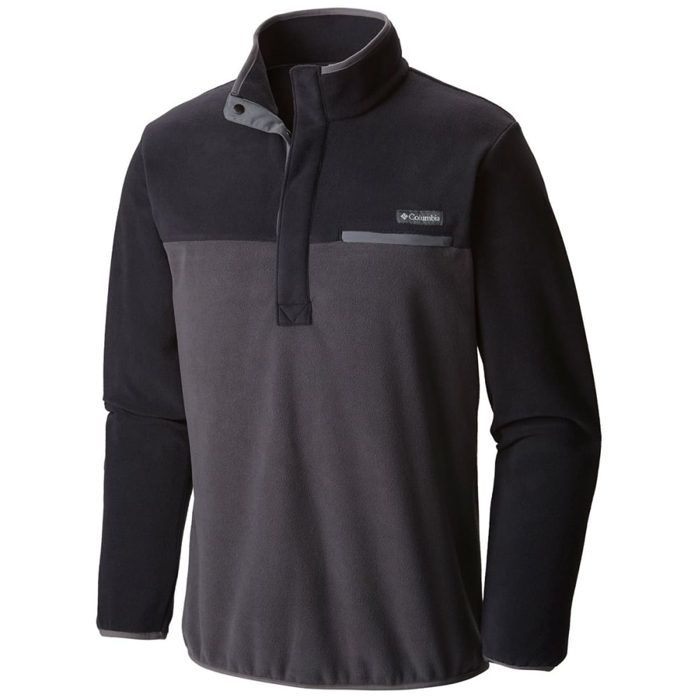 COLUMBIA Men's Mountain Side Fleece Jacket - BLACK-010