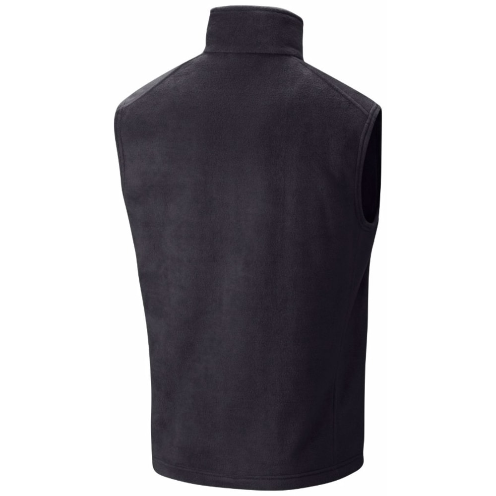 COLUMBIA Men's Steens Mountain Fleece Vest - BLACK-010