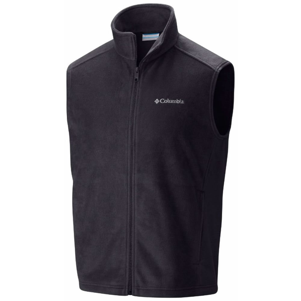 COLUMBIA Men's Steens Mountain Fleece Vest - BLACK-010