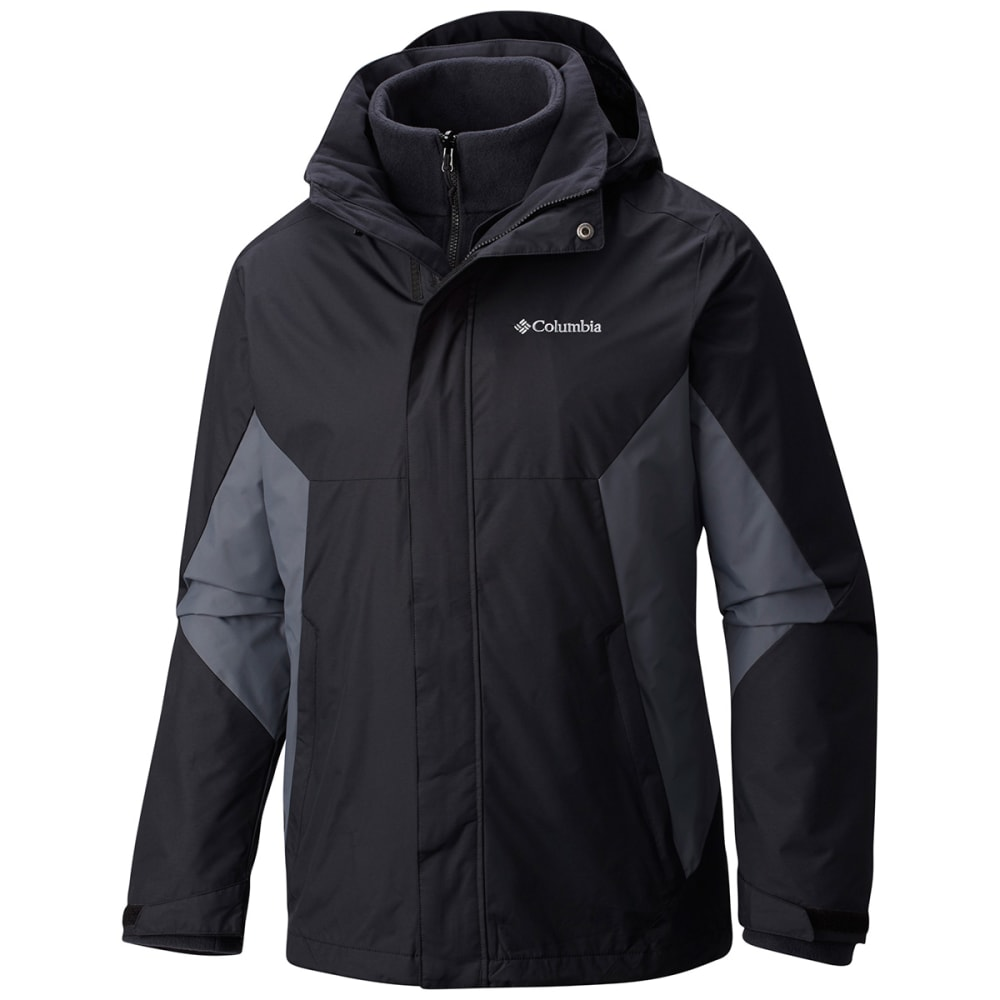 Columbia Men's Eager Air Interchange Jacket - Black, L