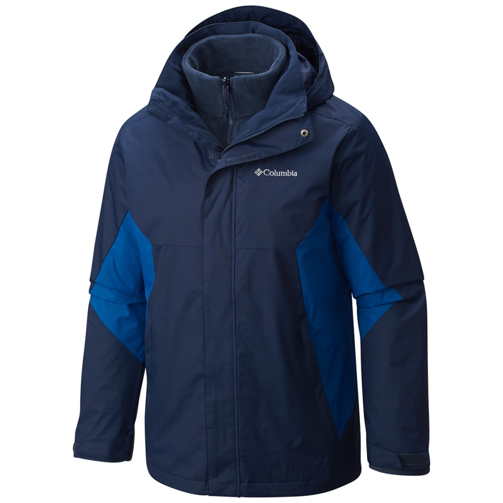 COLUMBIA Men's Eager Air Interchange Jacket - COL NAVY/ MAR-464
