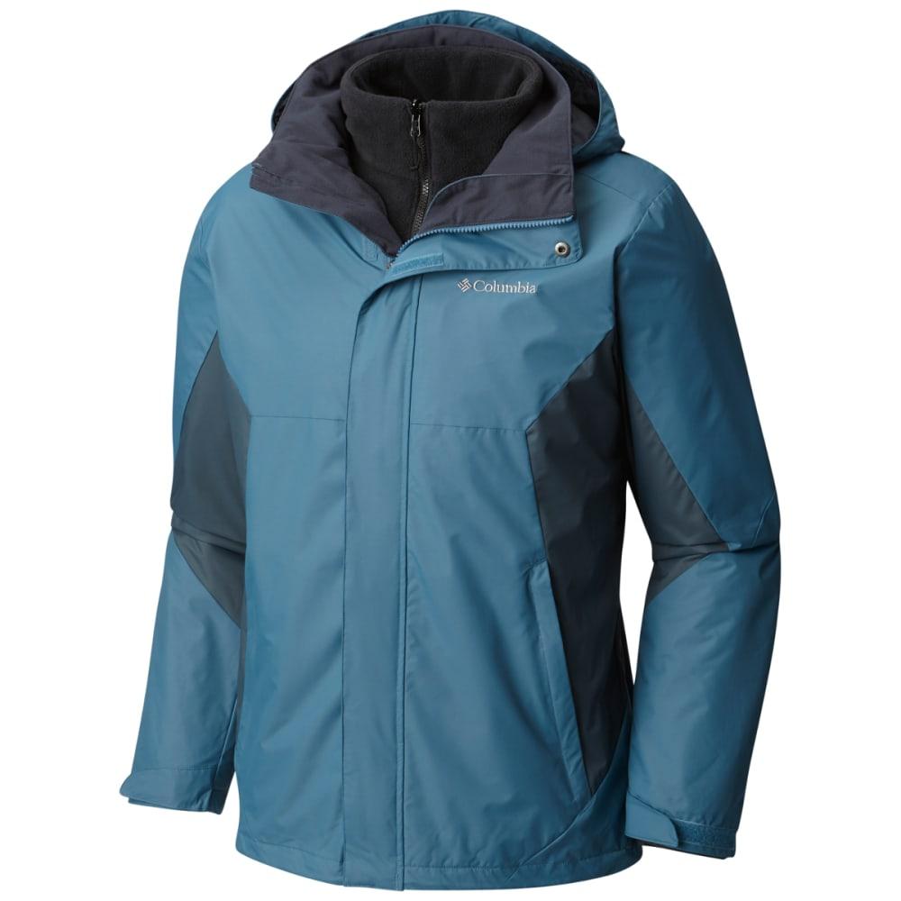 COLUMBIA Men's Eager Air Interchange Jacket - BLUE HERON/MYST-407