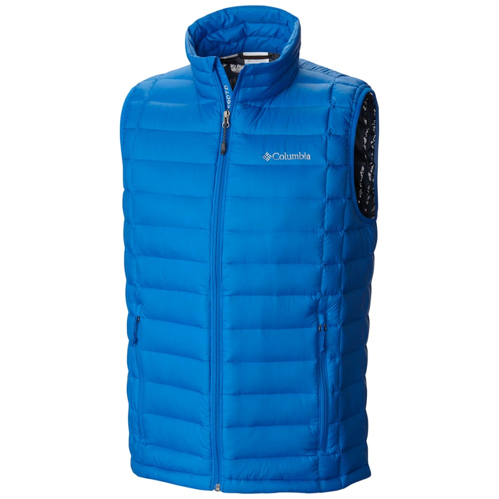 COLUMBIA Men's Voodoo Falls 590 Turbodown Vest - SUPER BLUE-438