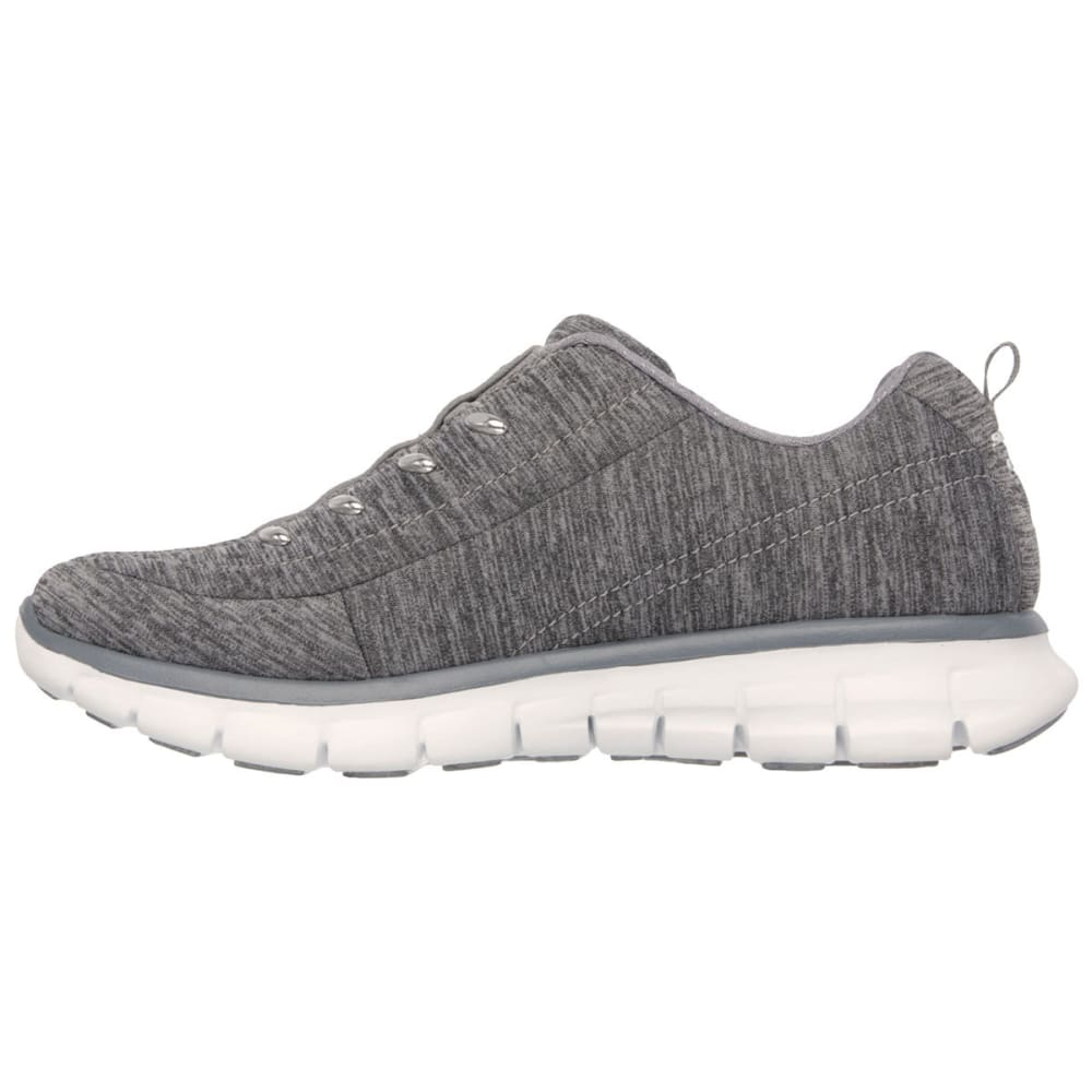 SKECHERS Women's Synergy - Positive Outcome Sneakers - GREY