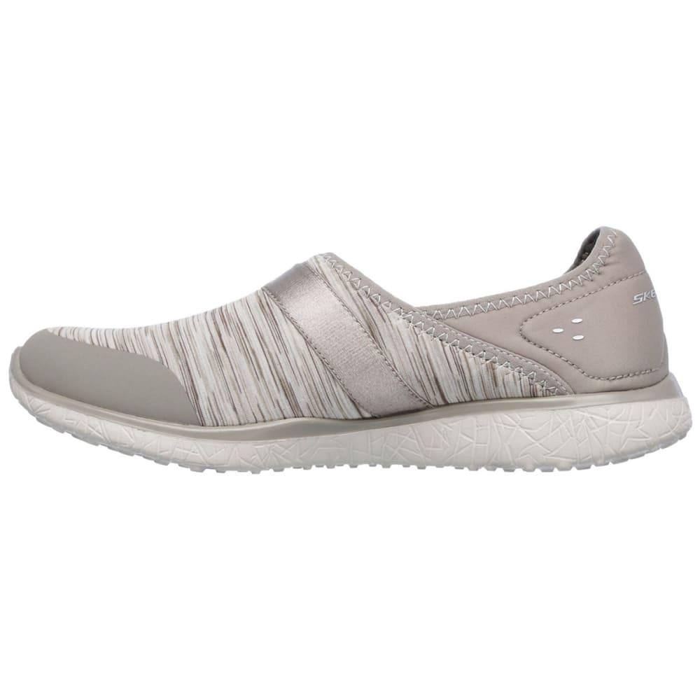 SKECHERS Women's Microburst -  Greatness Shoe - TAUPE