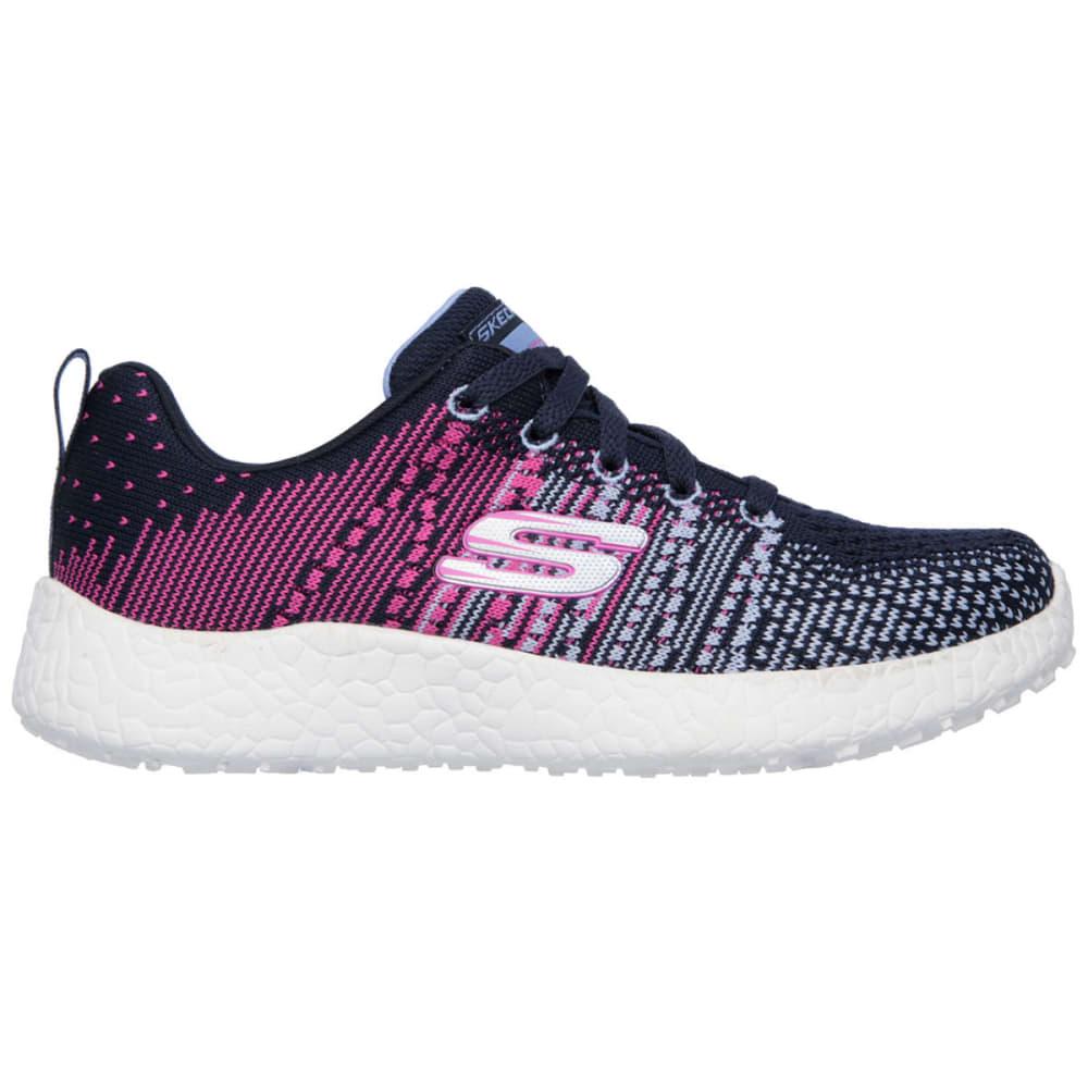 SKECHERS Girls' Burst – Ellipse Sneakers - BLUE