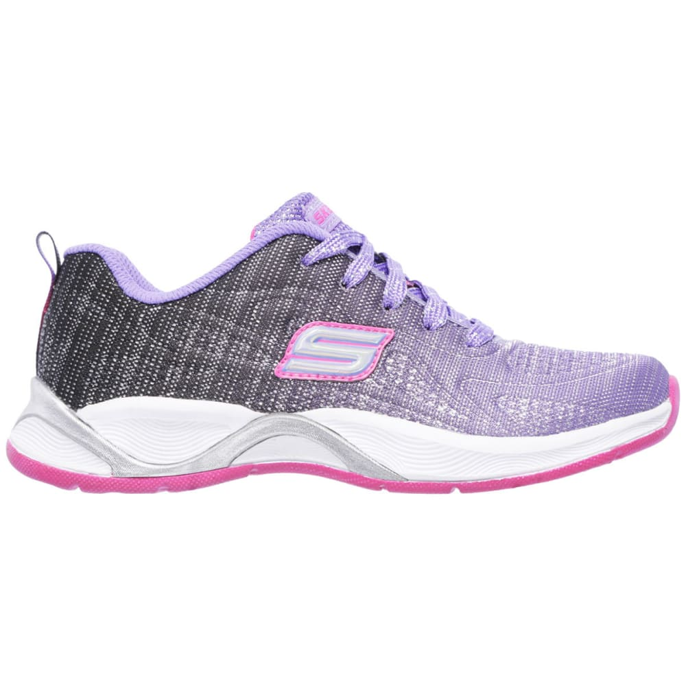 SKECHERS Girls' Hi Glitz -  Flutterspark Sneakers - PURPLE