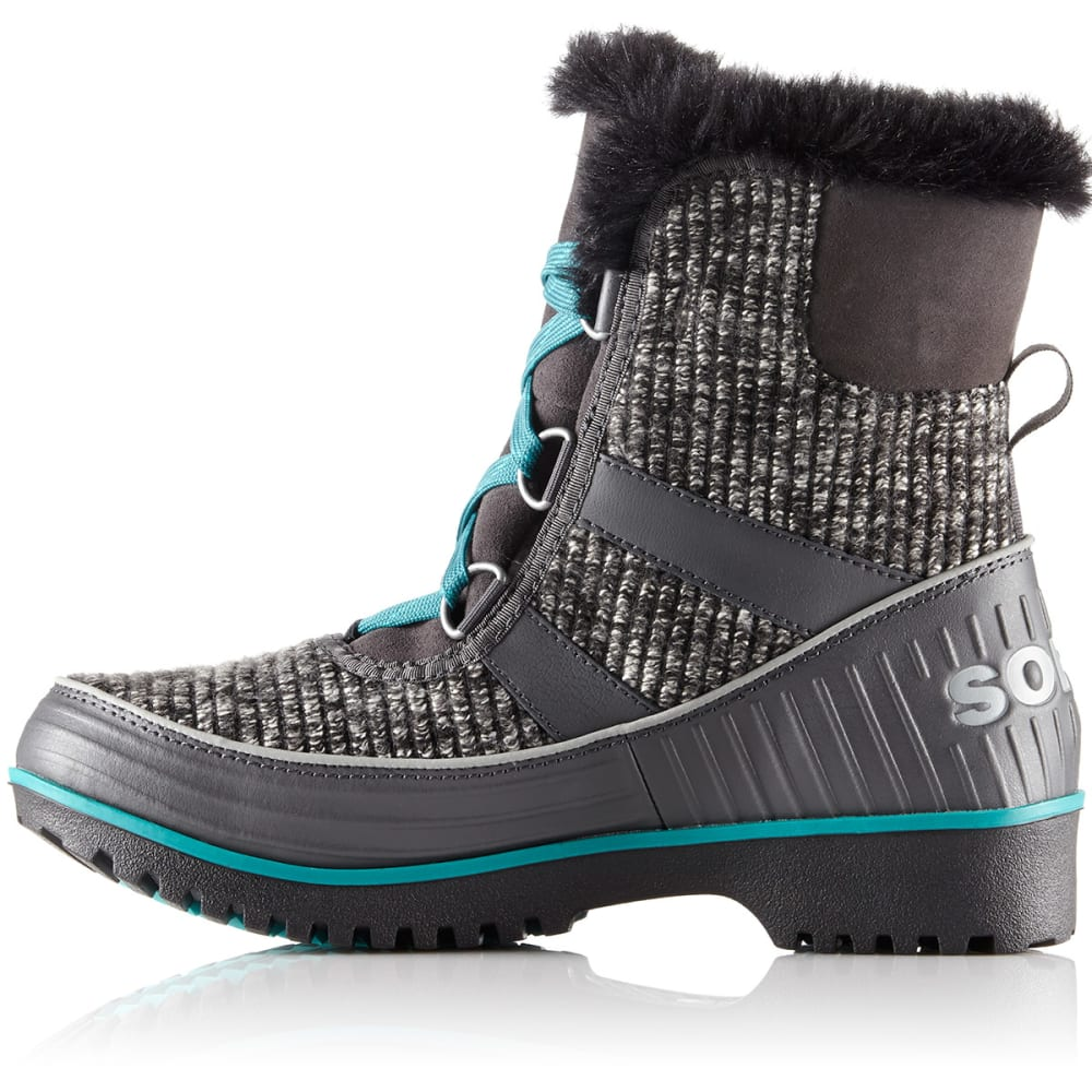 SOREL Women's Tivoli II Snow Boots - DARK GREY