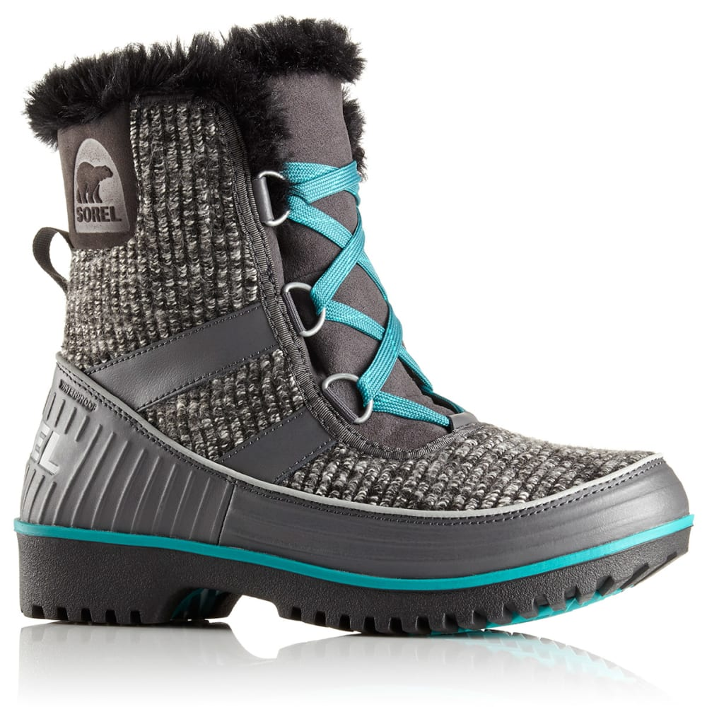 SOREL Women's Tivoli II Snow Boots - DARK GREY