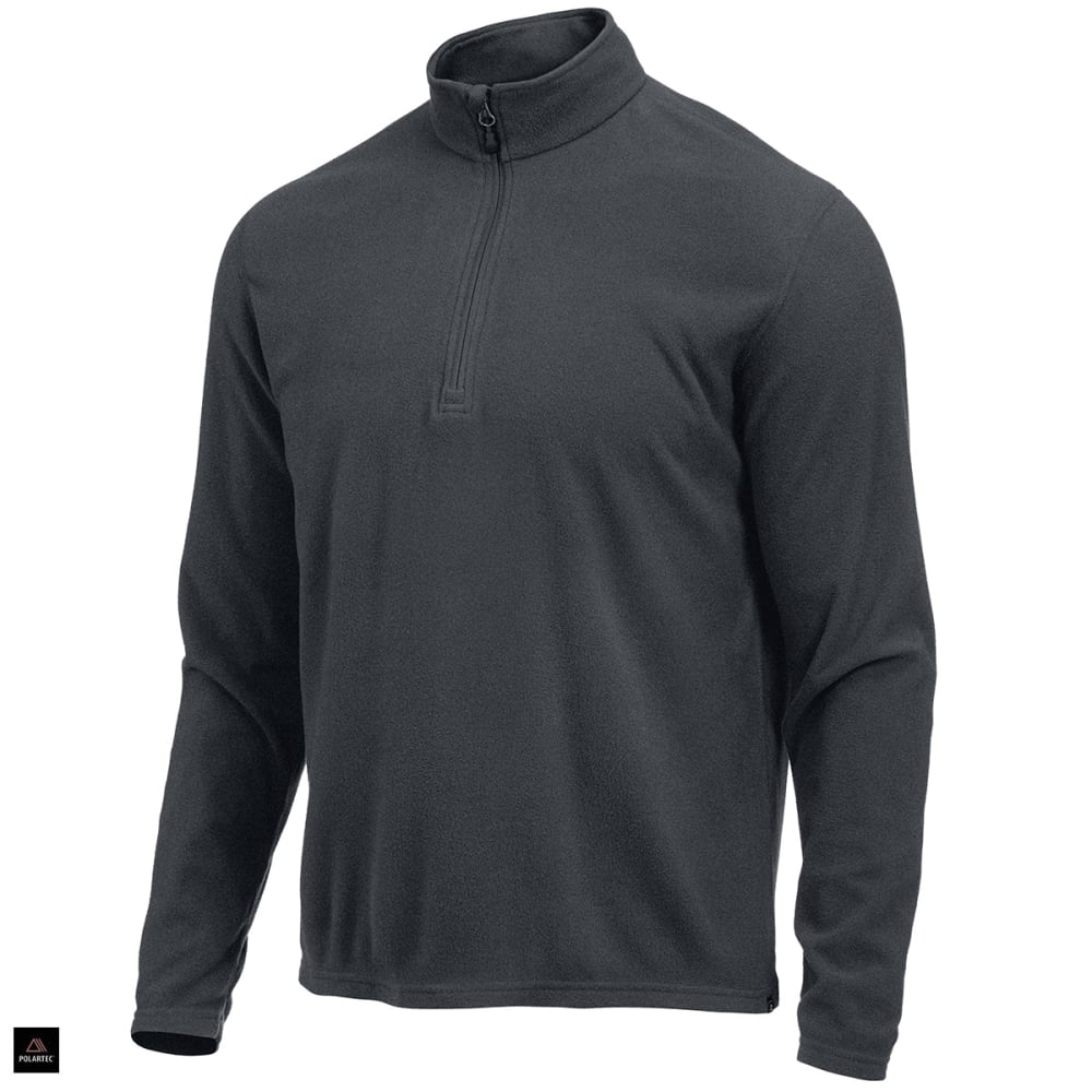 Ems(R) Men's Classic Micro Fleece  1/4 Zip - Black, S